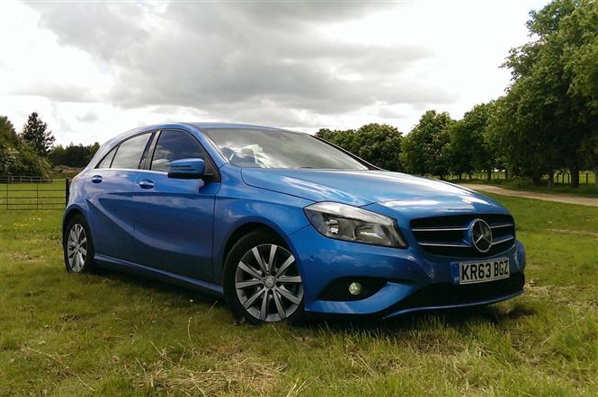which mercedes a class makes the best company car parkers  mercedes a class se eco