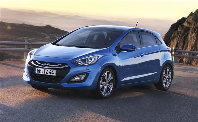 The Hyundai i30 - cheap family cars