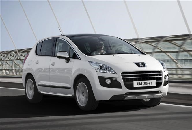The Peugeot 3008 - cheap family cars