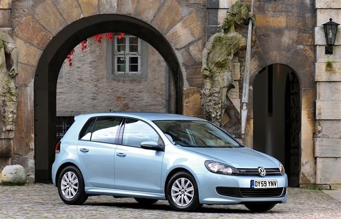Volkswagen's Bluemotion Golf - cheap family cars