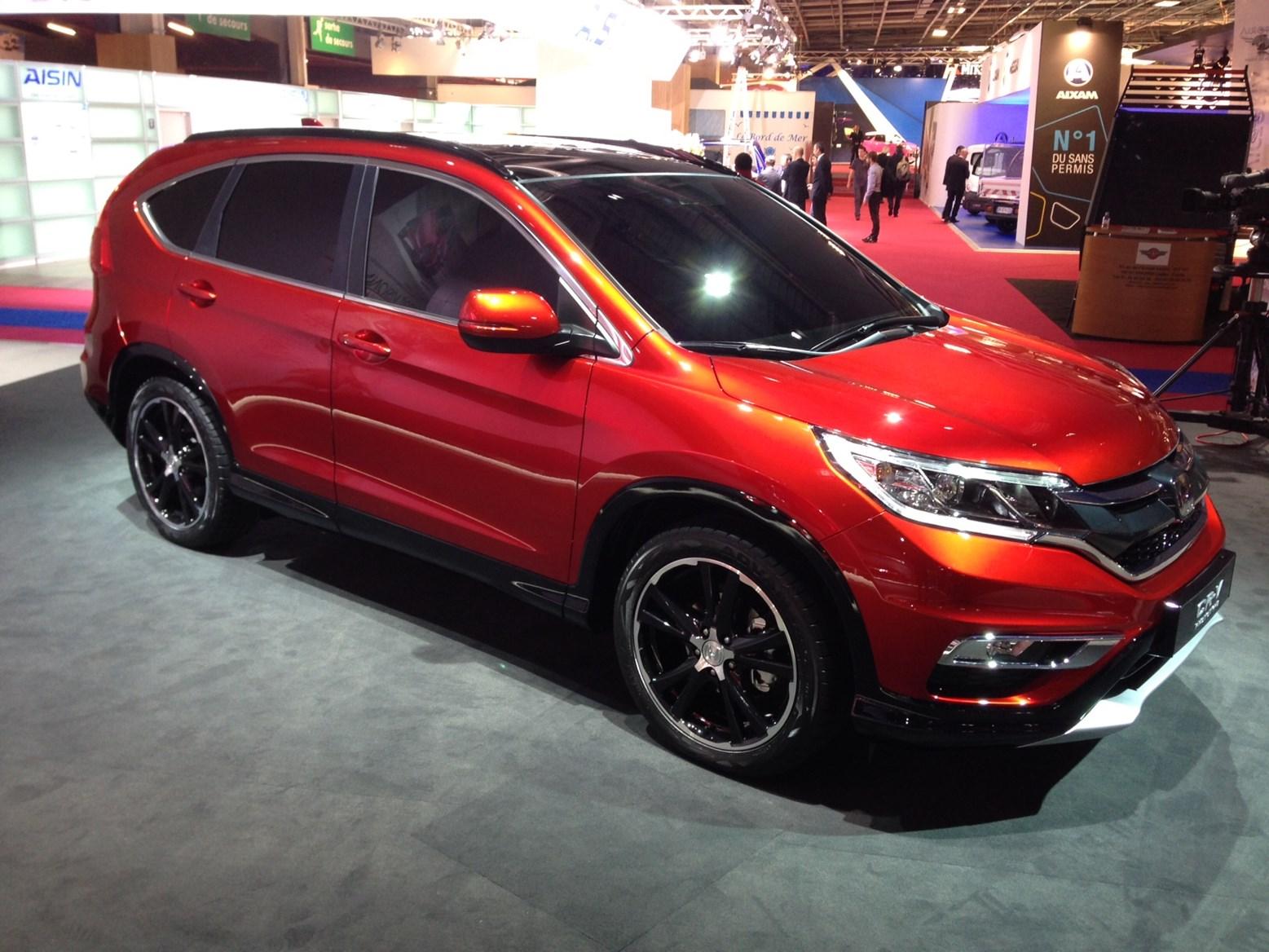 Type R Crv >> Paris Motor Show 2014 Honda Parkers