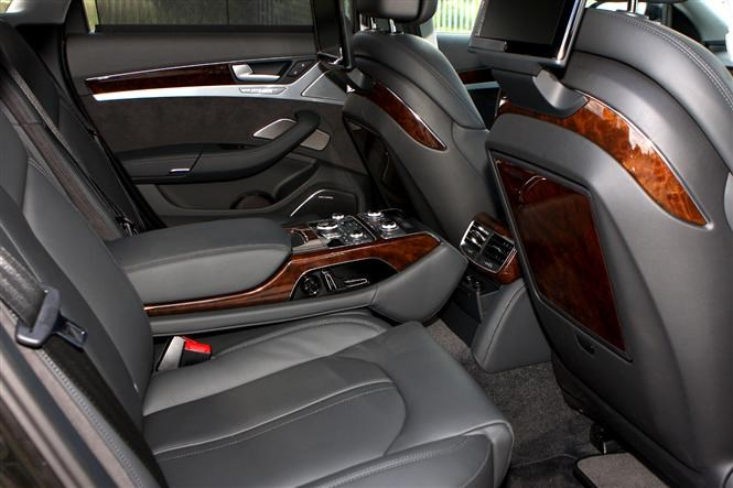 Audi A8: Travel for mini VIPs | Parkers