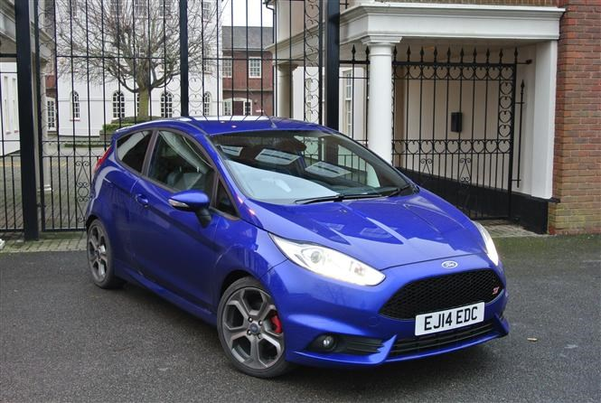 Official Performance Blue Fiesta ST Pictures Thread
