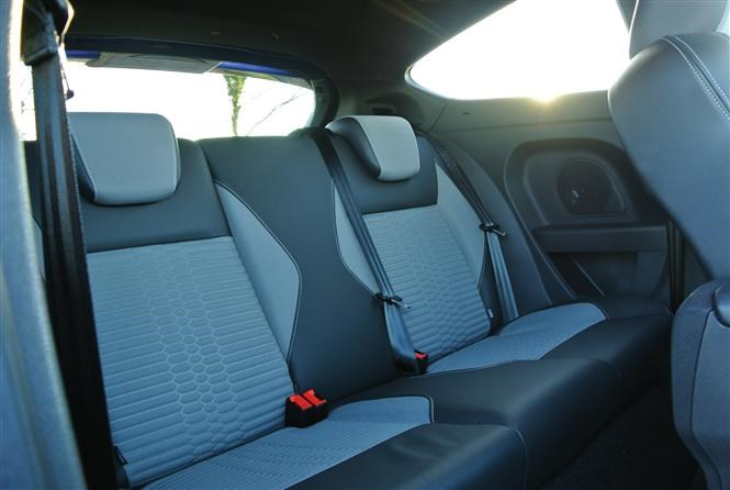 Fiesta St Rear Seats