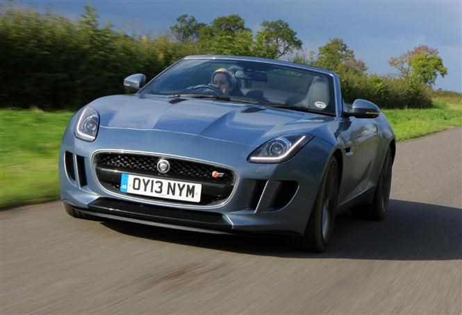 ... F Type Is An Excellent Slice Of British Open Top Class, Even If It Is A  Little Over Budget ...