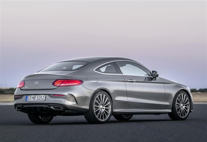 New mercedes c class coupe
