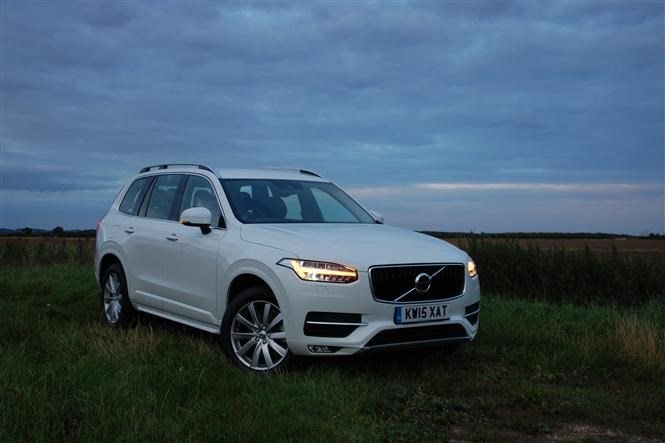 Volvo XC90 - The best cars for fishermen
