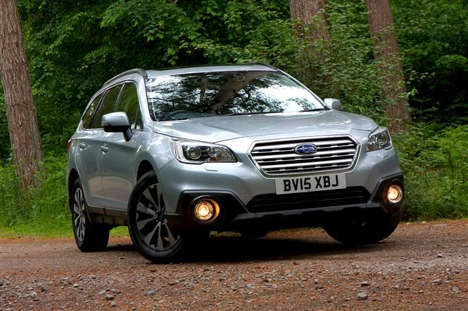 Subaru Outback - The best cars for fishermen