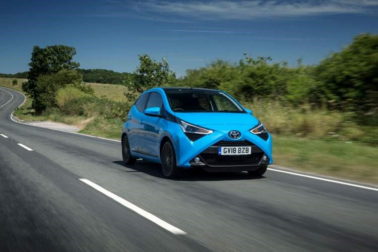 Toyota Aygo 2018 facelift new face