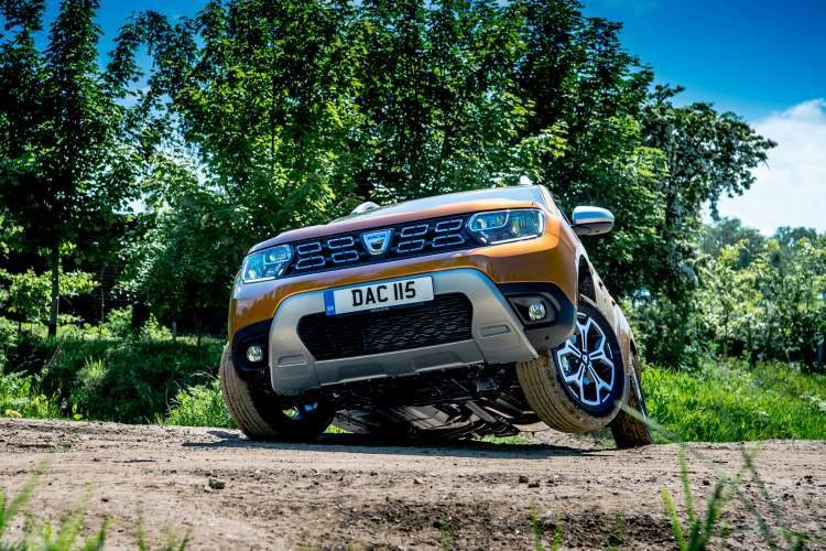 A Dacia Duster does work off-road