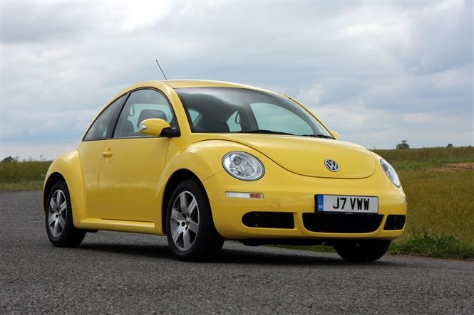 VW Beetle is based on a Golf