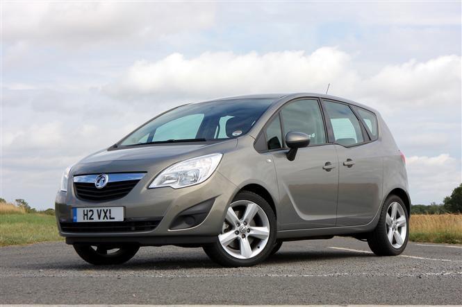 Vauxhall Meriva twin test