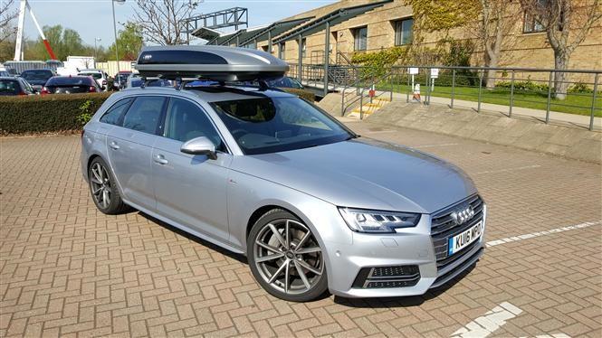 Audi A4 roofbox