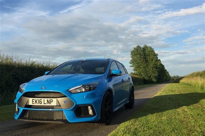 Focus RS - now it's blue