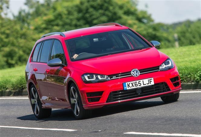 VW Golf R Estate - practical and fun estate cars