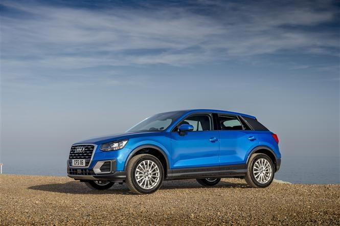 Audi Q2 is one of Thatcham's top 10 safest cars of 2017