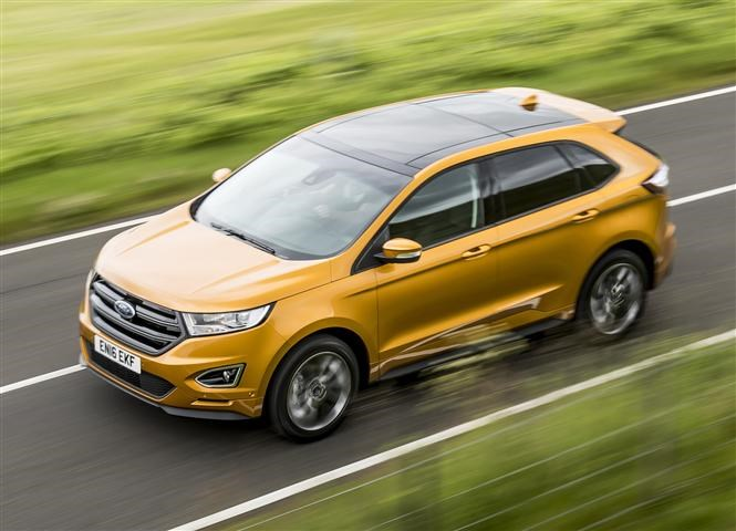Ford Edge is one of Thatcham's top 10 safest cars of 2017