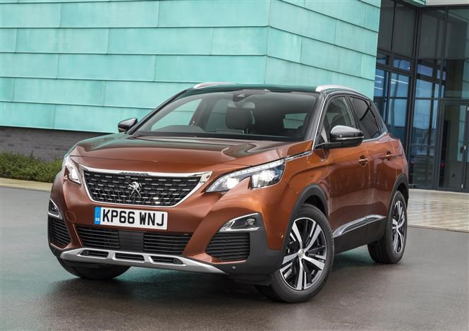 Peugeot 3008 is one of Thatcham's top 10 safest cars of 2017