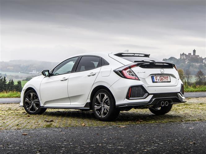 Honda Civic 2017 Pricing Hatchback White