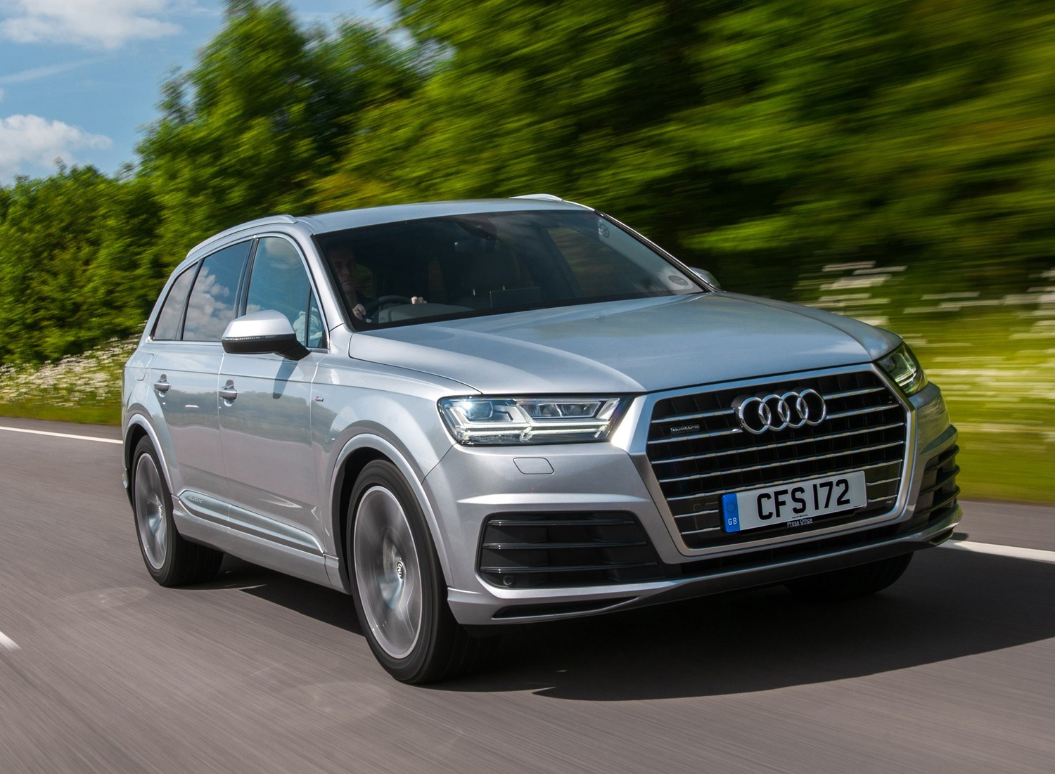 Cars for twins and a toddler - Audi Q7