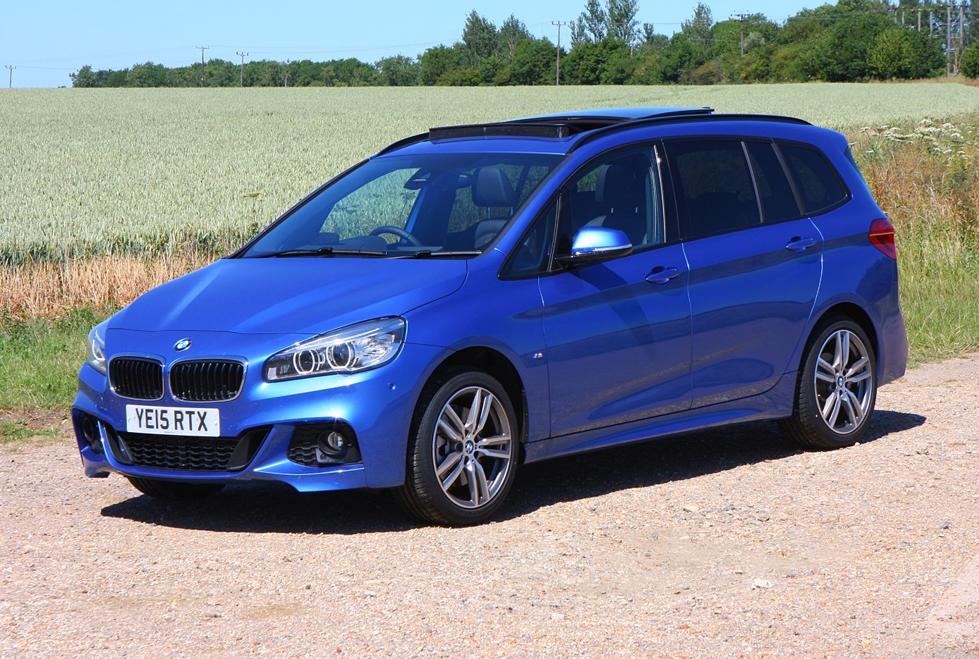 Cars for twins and a toddler - BMW 2 Series Gran Tourer