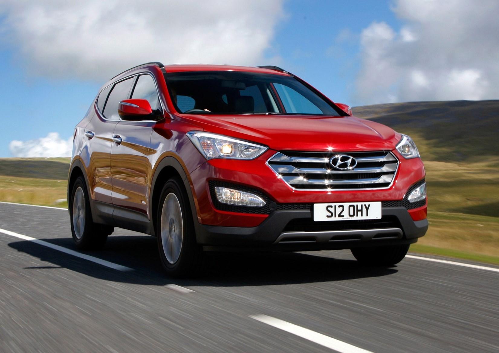 Cars for twins and a toddler - Hyundai Santa Fe