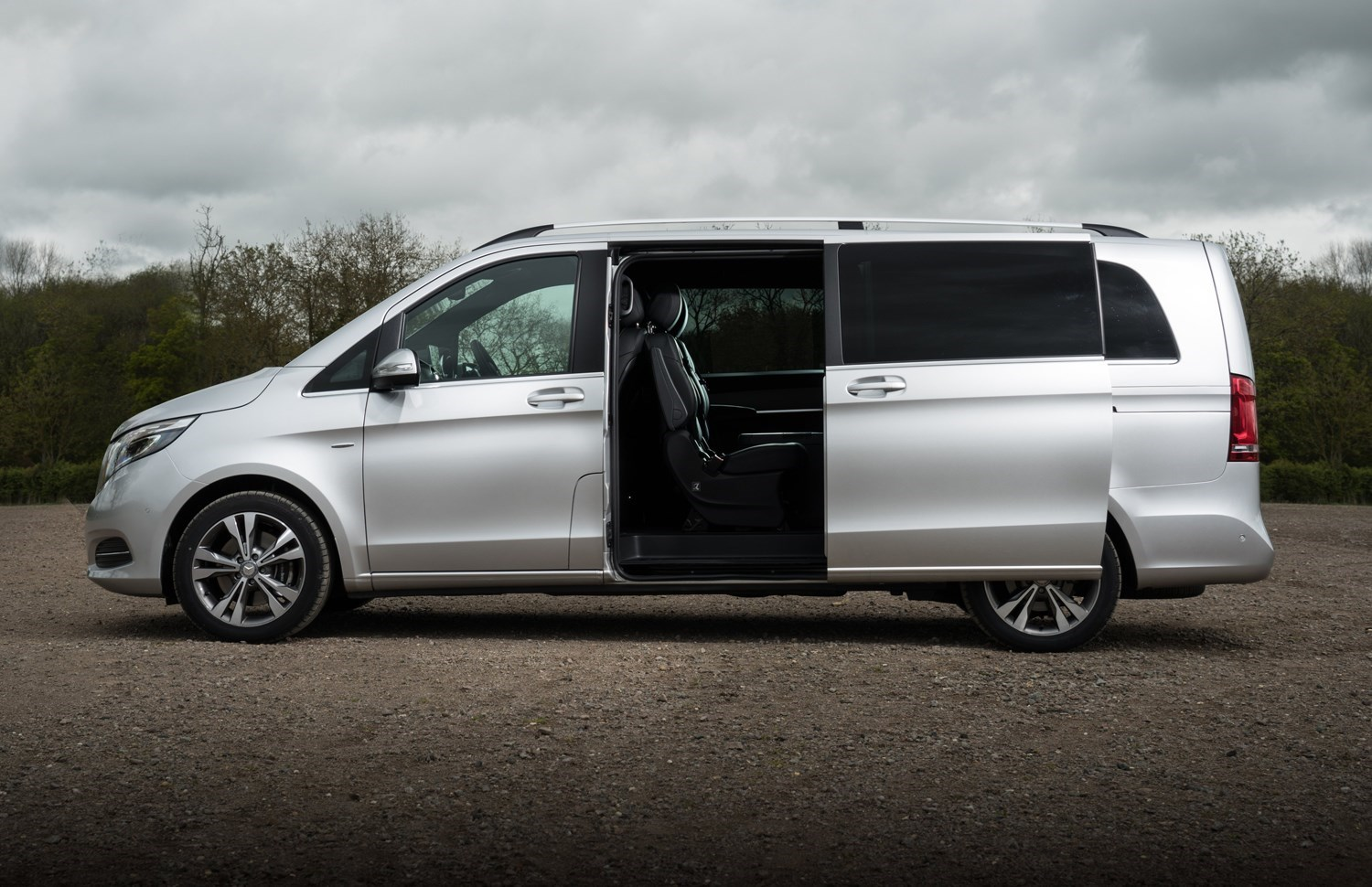 Cars for twins and a toddler - Mercedes V-Class