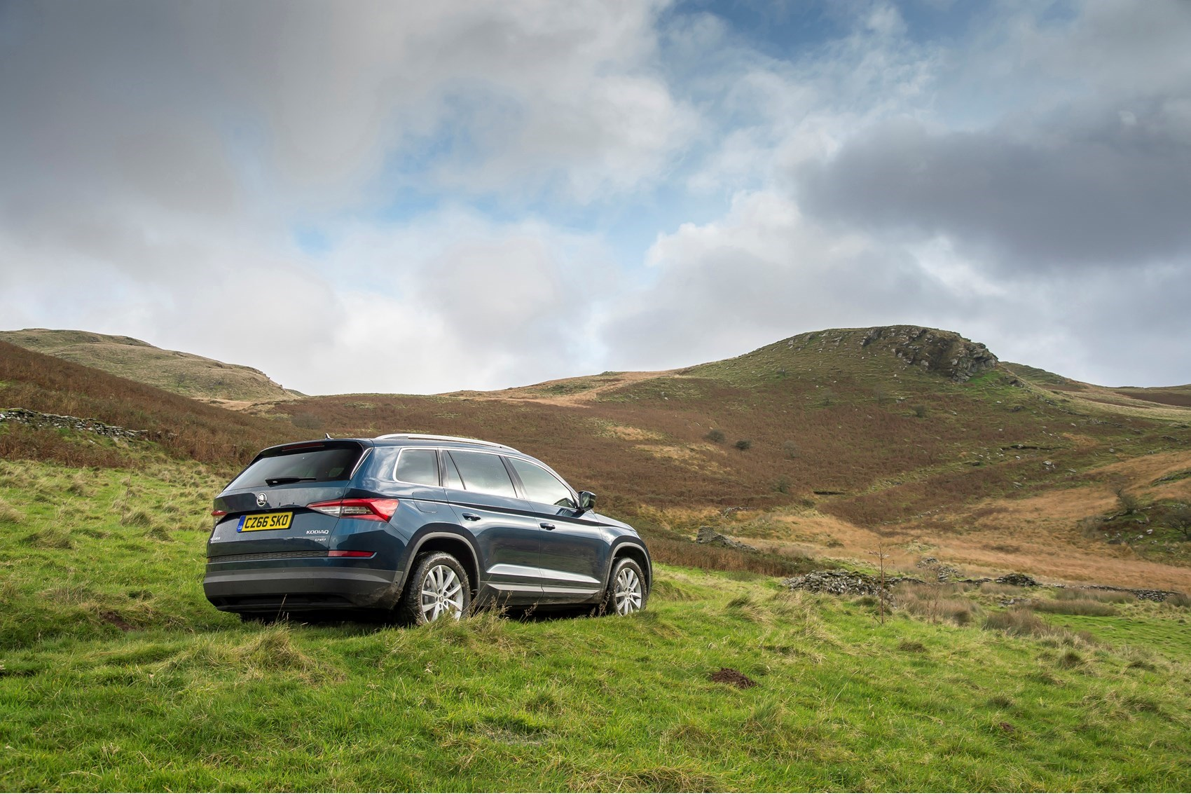 Cars for twins and a toddler - ŠKODA Kodiaq