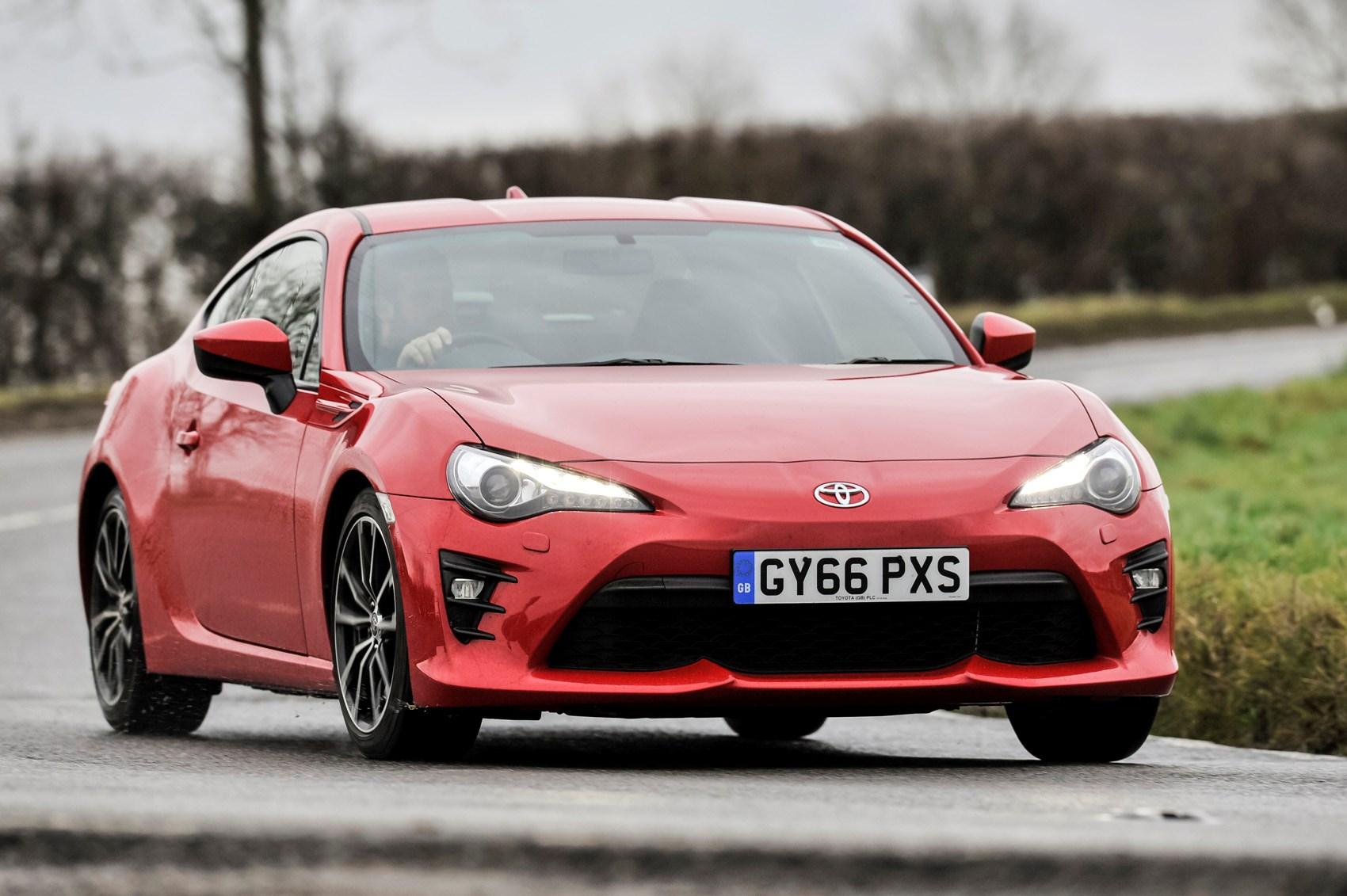Toyota's two-door tearaway leaves the Parkers fleet