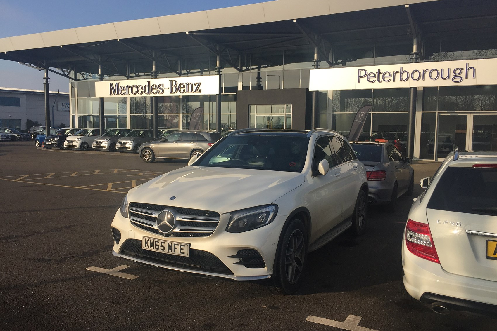 Mercedes-Benz GLC 250d at Peterborough dealers