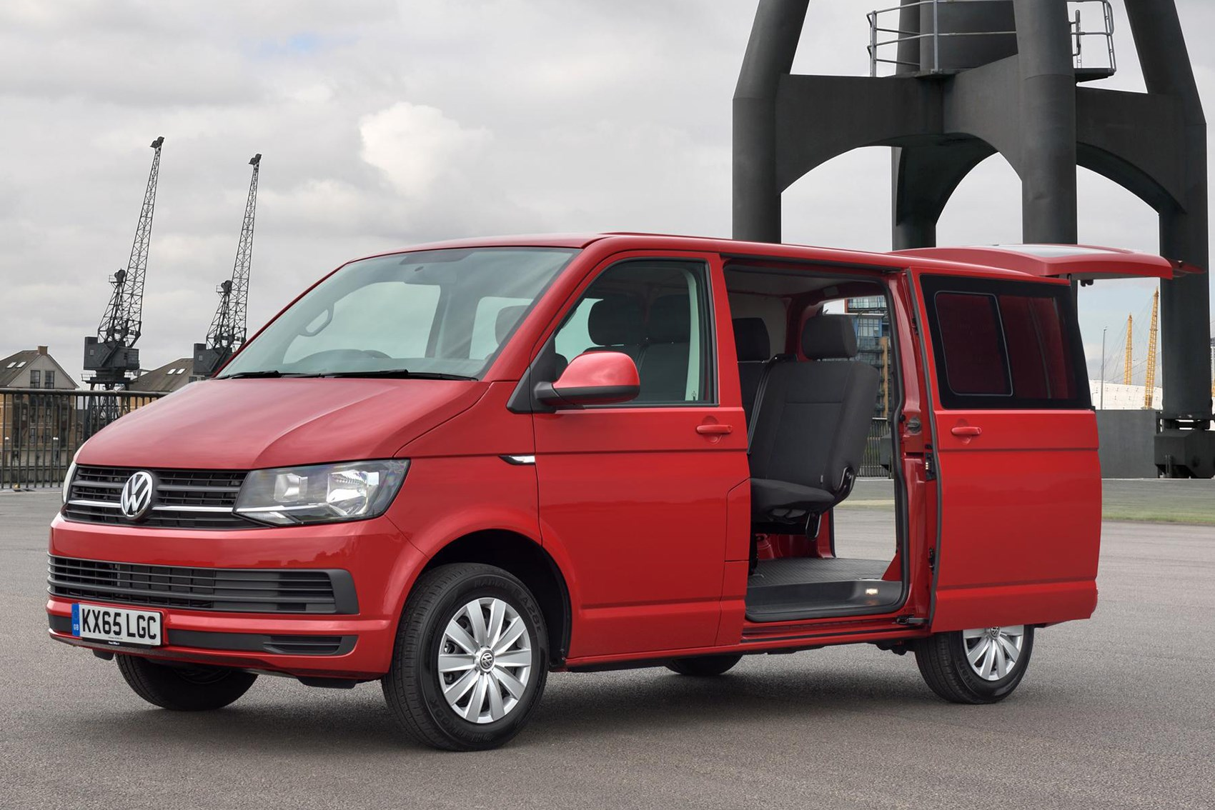 VW Transporter - best vans for fishermen