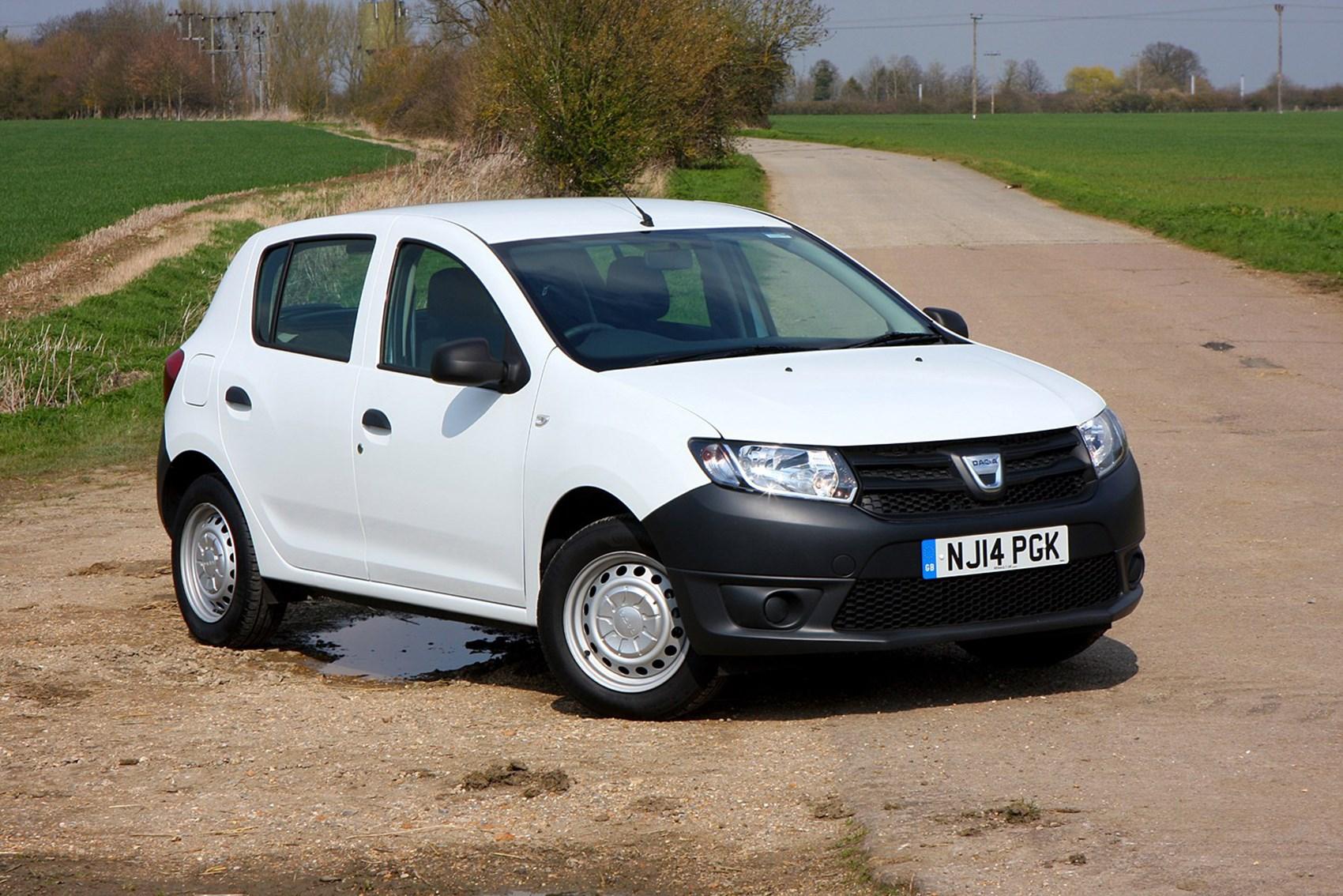 Dacia Sandero - small cars with big boots