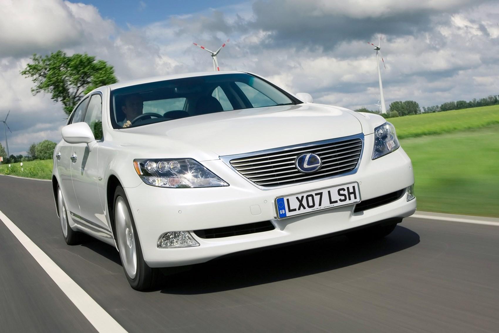 Lexus LS - luxury cars for less than £10k