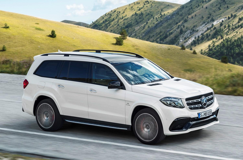 Mercedes-Benz GLS-Class - safest seven-seaters