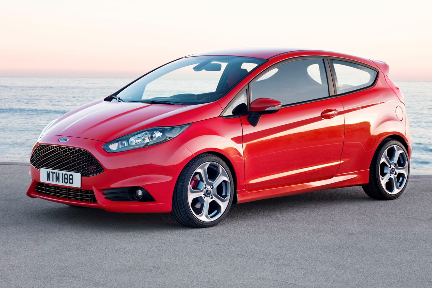 Ford fiesta st fast economical cars