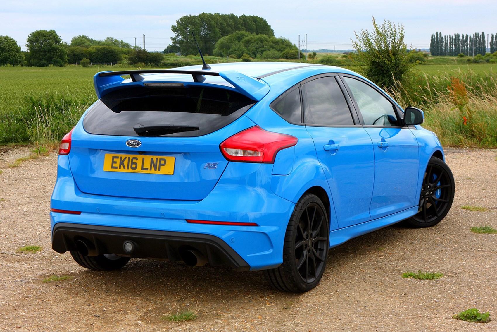 Ford Focus RS - the best hot hatchbacks
