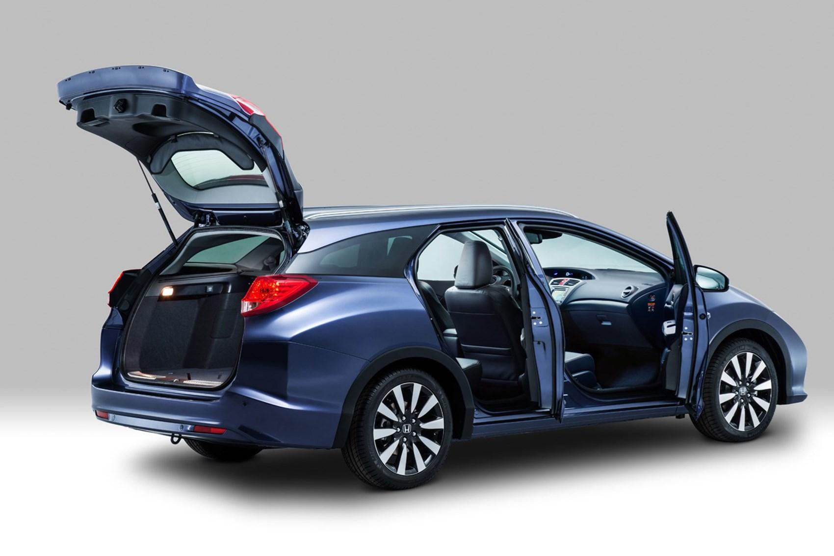 Honda Civic Tourer - Best small family estates
