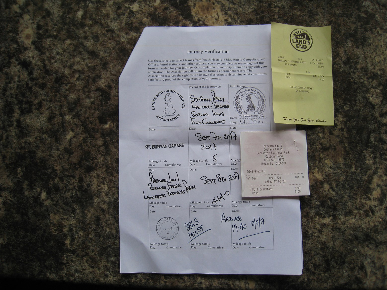 End to Enders stamps