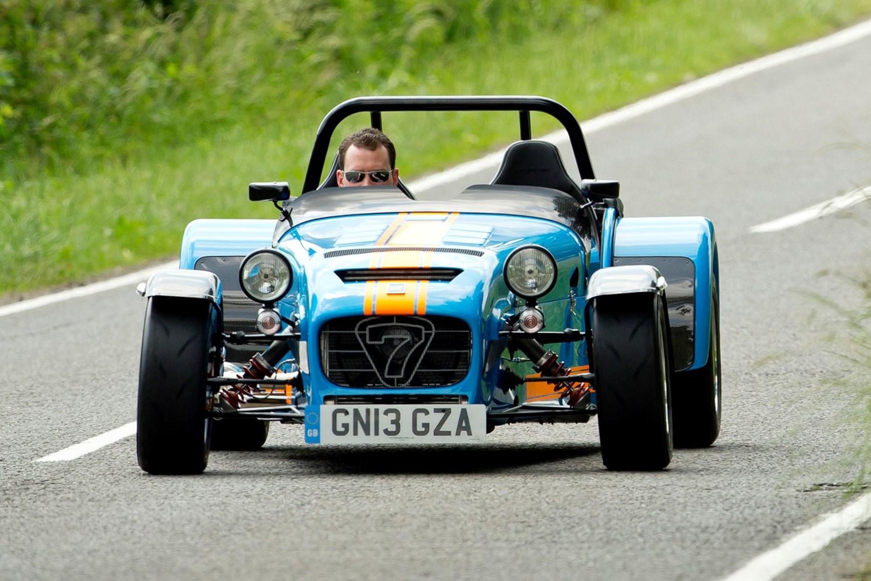 Caterham Seven - best convertible cars