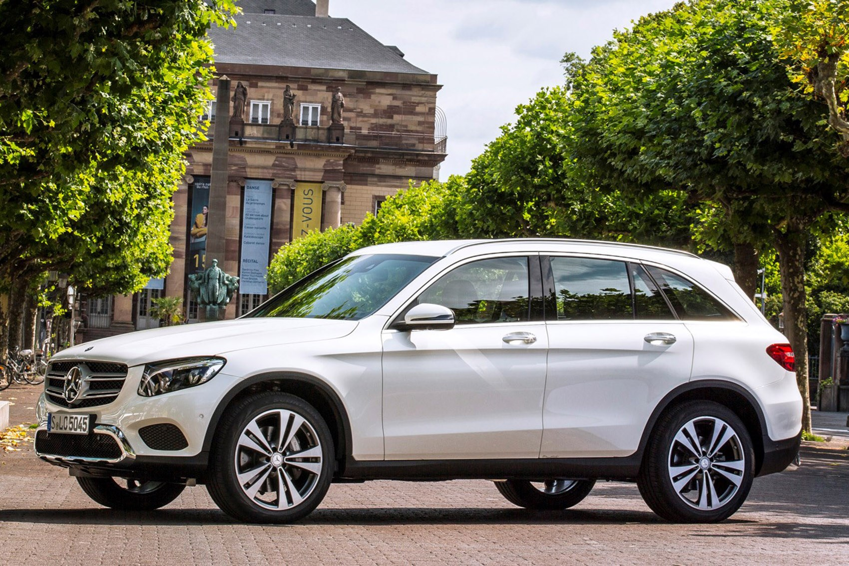 Mercedes-Benz GLC - the best family SUVs