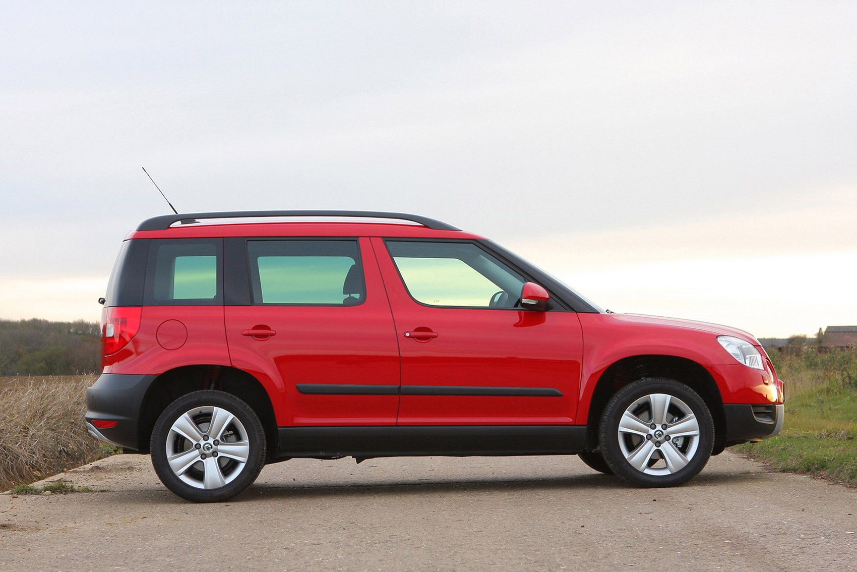 Skoda Yeti - the best family SUVs