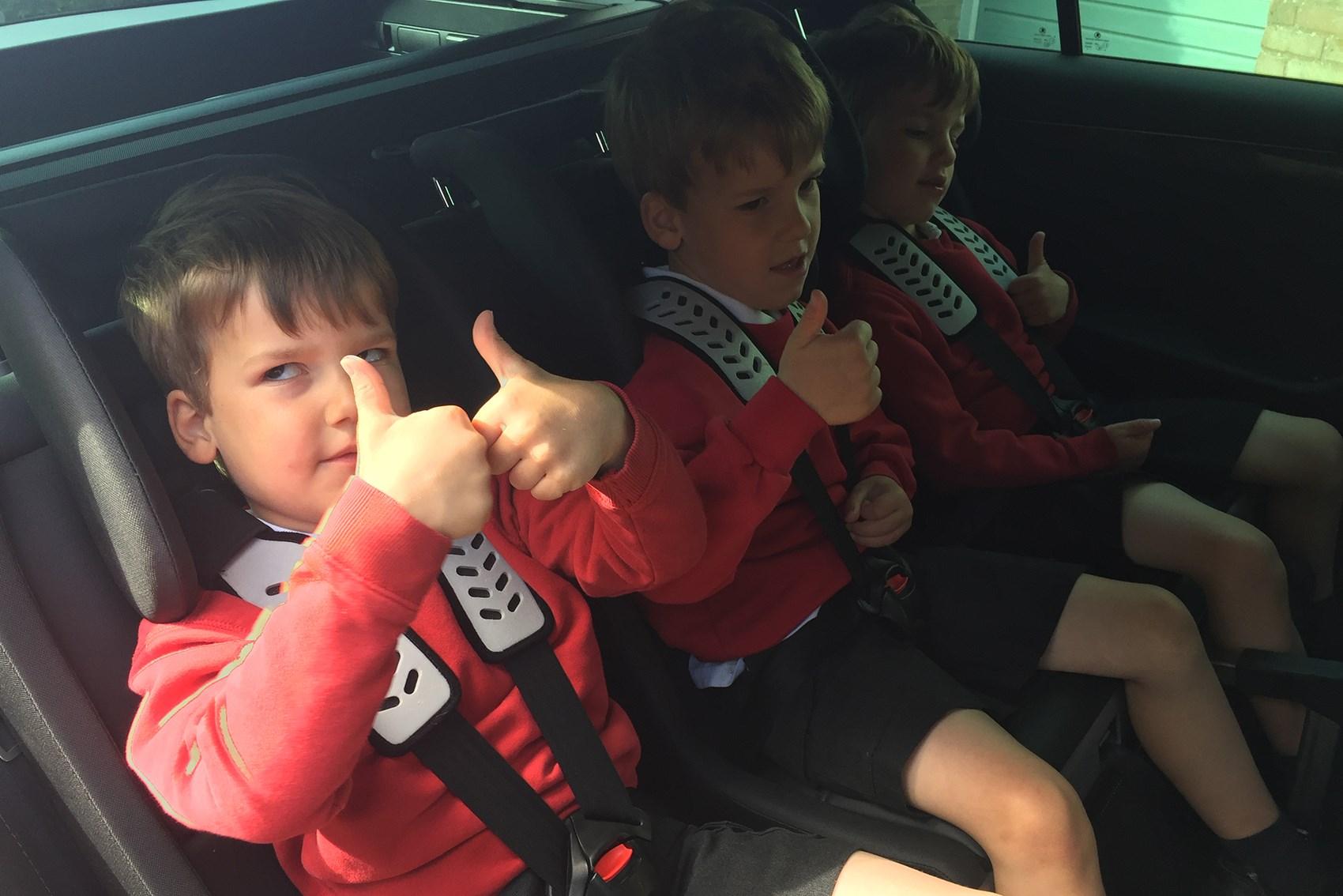 Skoda Superb plus Multimac car seats