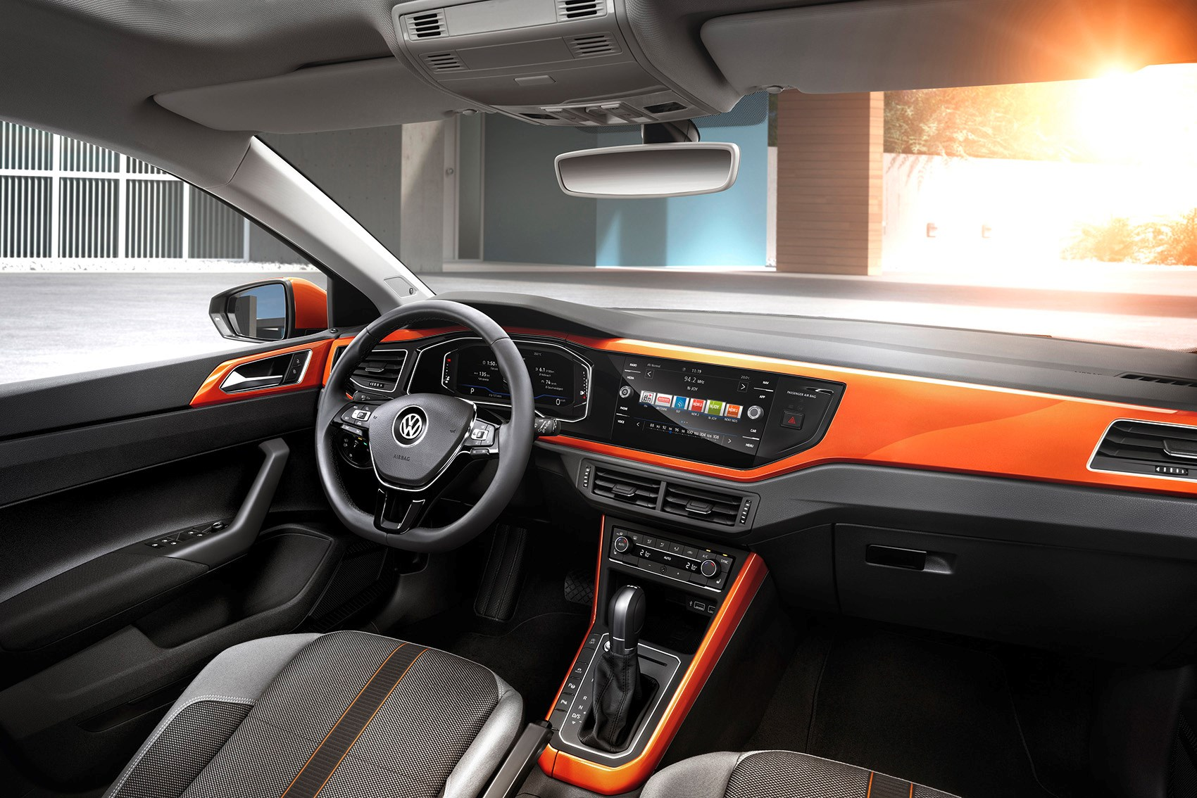 New VW Polo interior