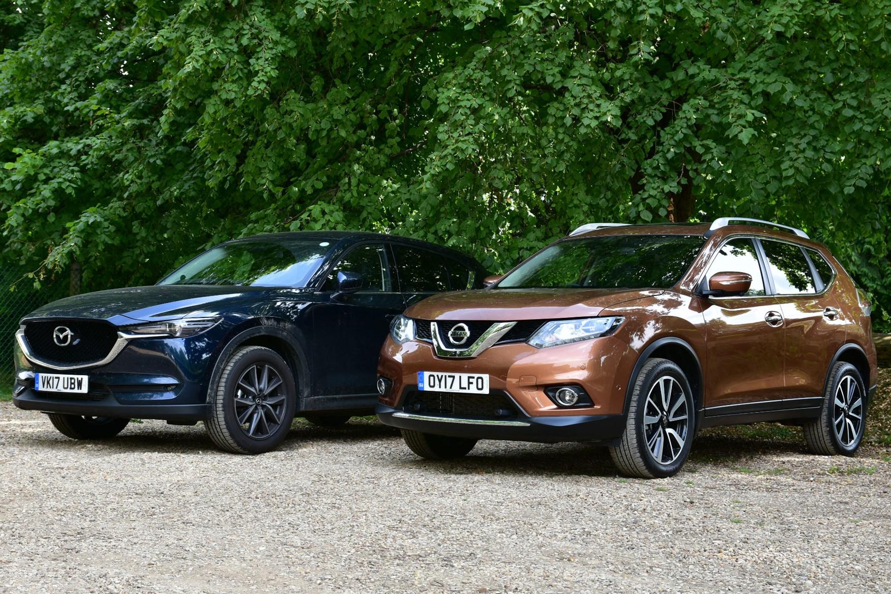 Mazda CX-5 vs Nissan X-Trail