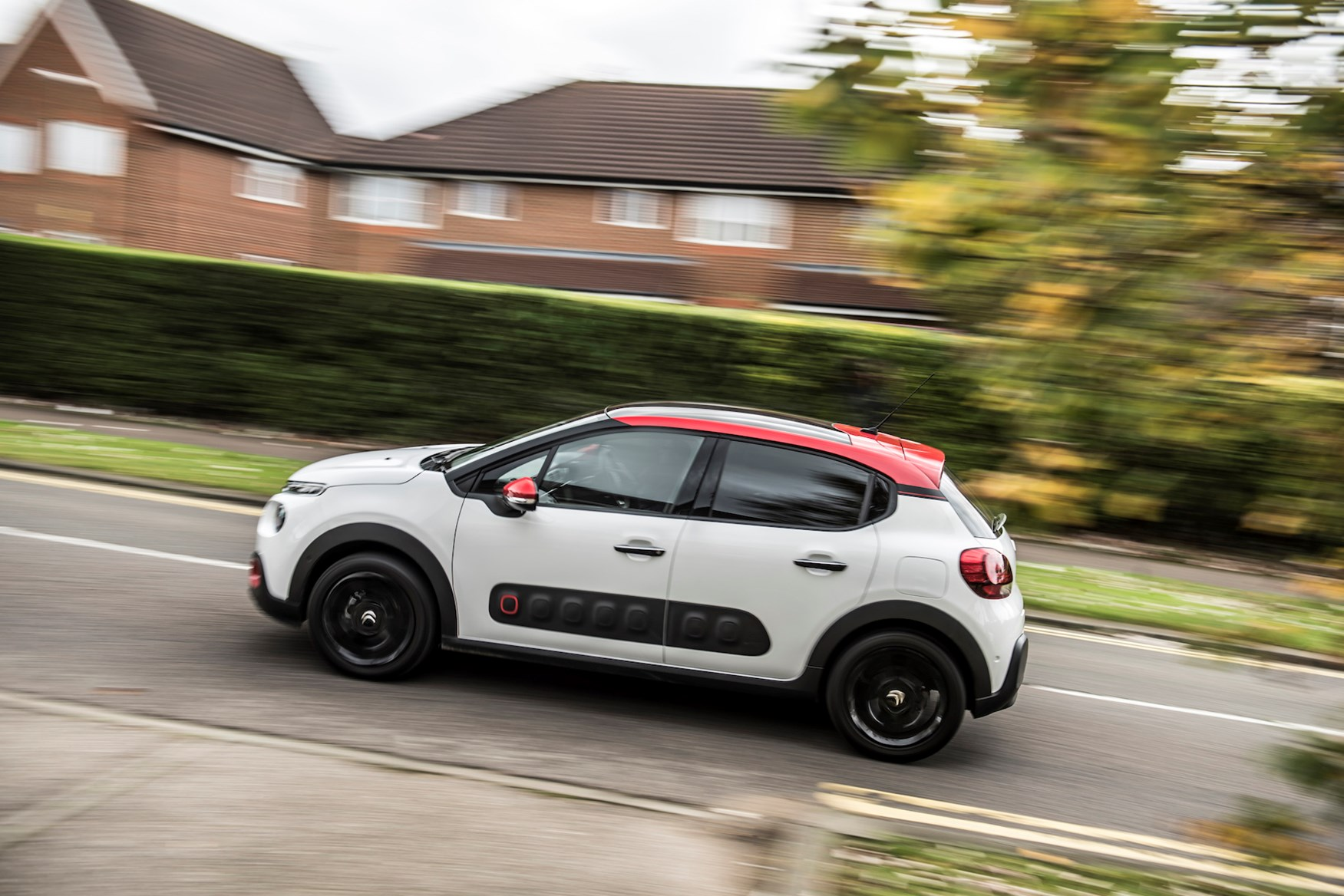 Citroen C3 and Parkers on the 2018 driving test