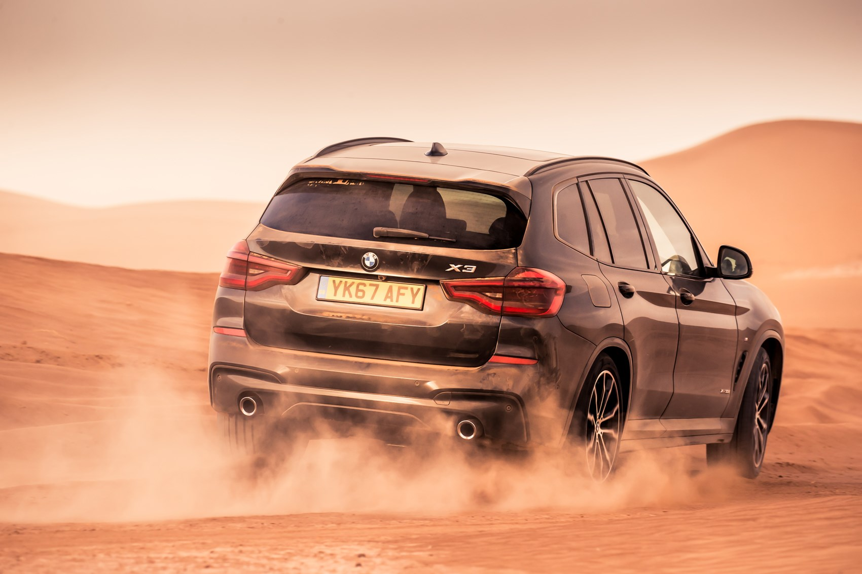 Driving abroad in a BMW X3