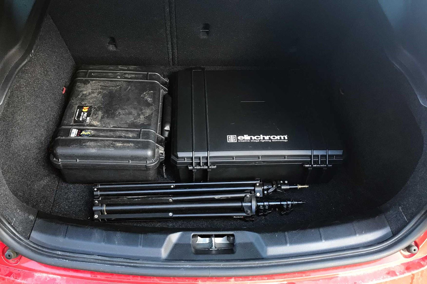 Capacious Volvo V40 R-Design boot
