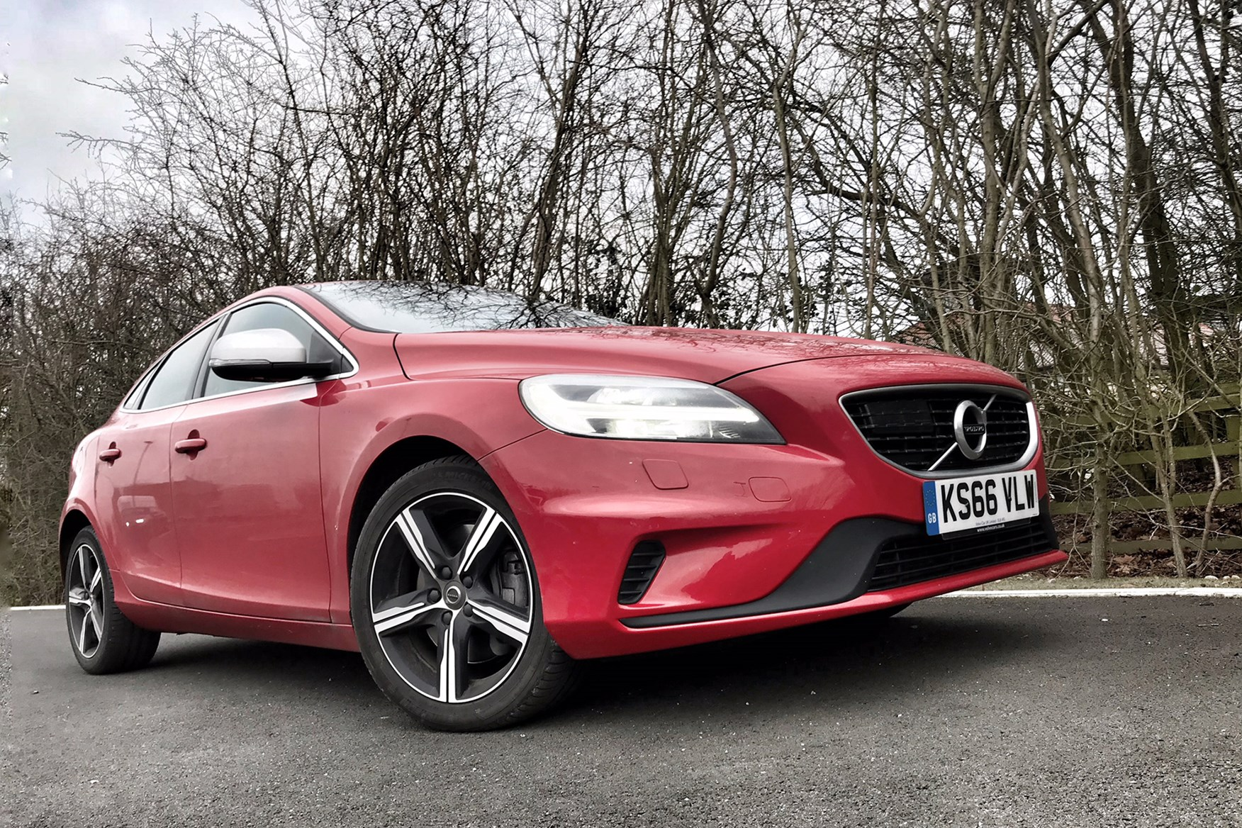Volvo V40 approved used long-term test