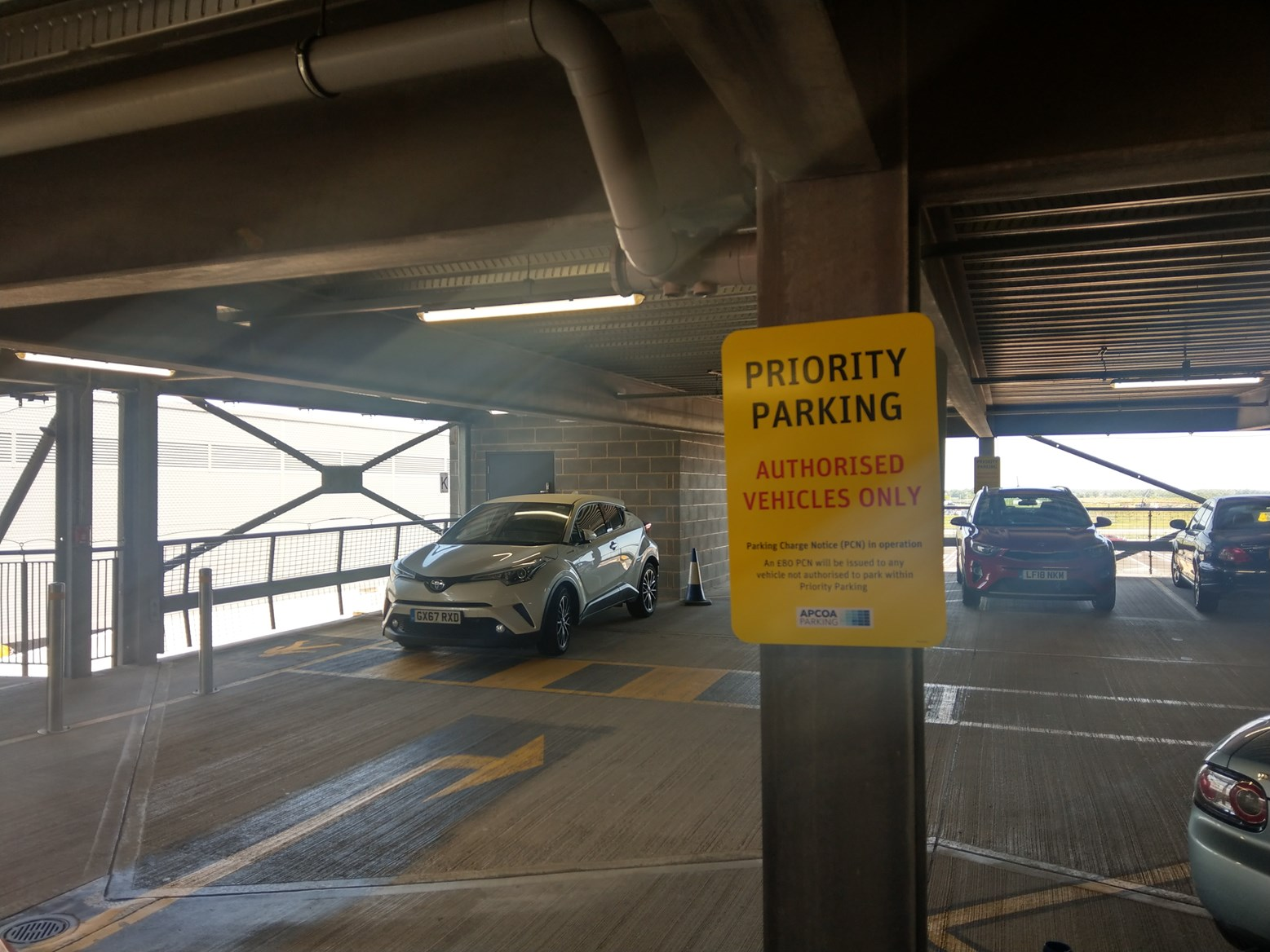 Toyota C-HR as an airport accomplice