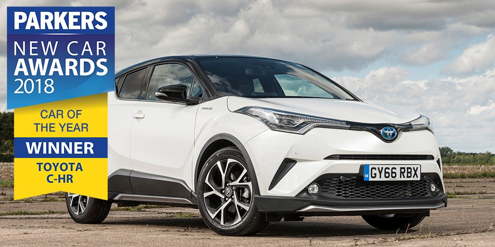 Toyota C-HR is Parkers Car of the Year